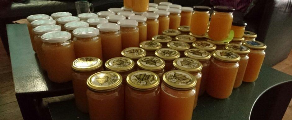 We hebben weer honing